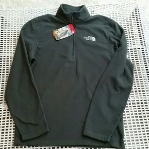 Men's North Face 1/4 zip fleece